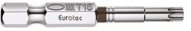 """TX-Lang-Bit 1/4"""" x 50 mm TX15 kupferbraun"""